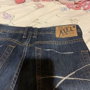 Axel Jeans - Men's AXEL JEAN barley worn maybe twice  to small